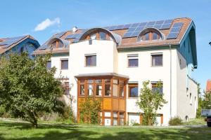 Außenansicht des Valborg-Werbeck-Svärdström-Hauses