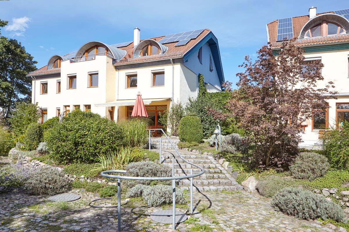 Gartenansicht des Wladimir-Lindenberg-Hauses