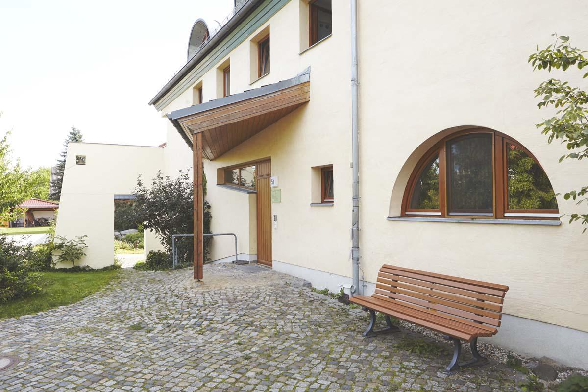 Eingangsbereich des Valborg-Werbeck-Svärdström-Hauses