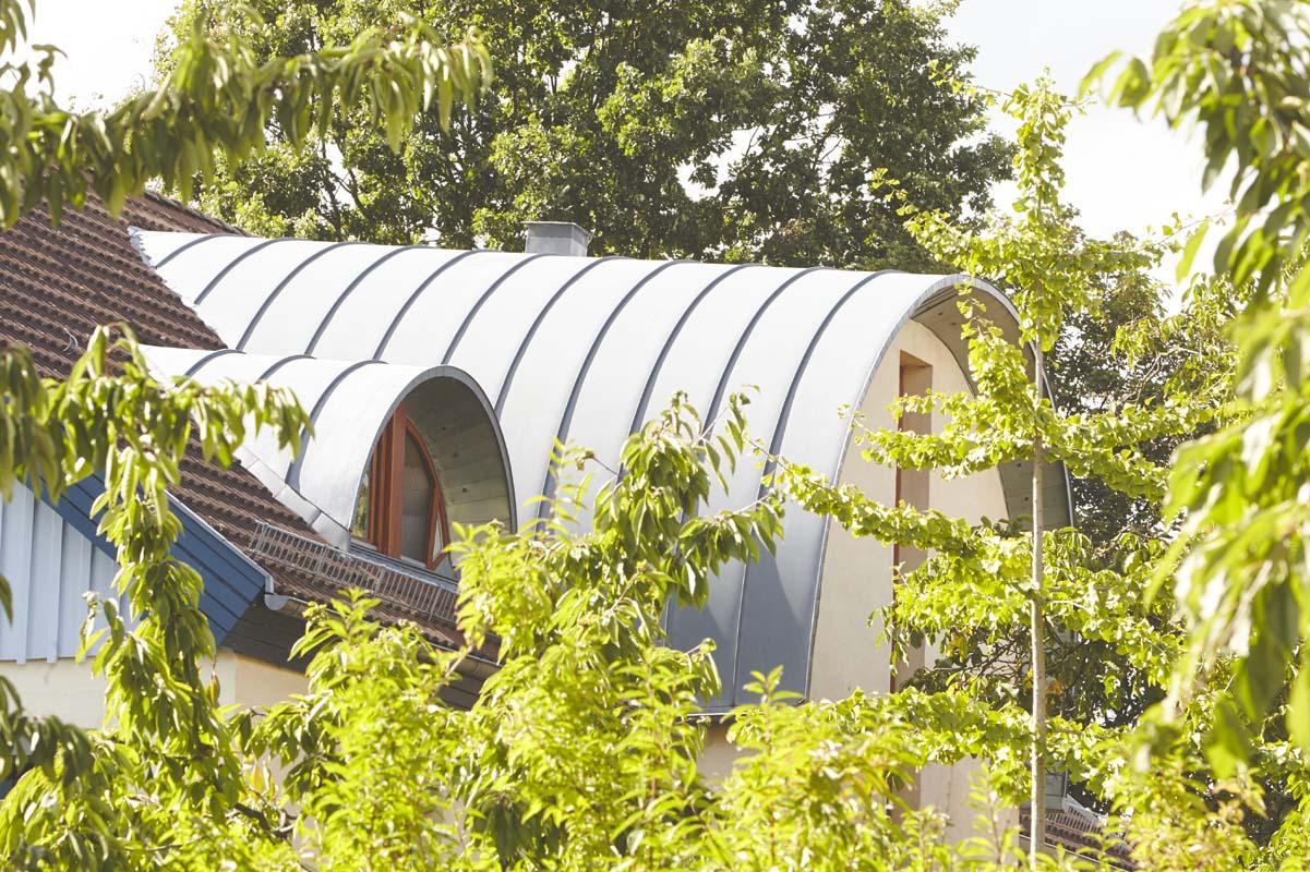 Dachansicht des Wladimir-Lindenberg-Hauses