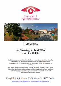 Flyer Hoffest 2016