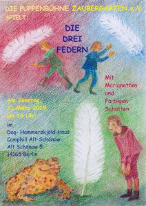 Plakat Die Drei Federn